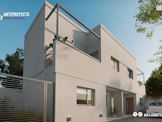 MOSCONI: Casas de estilo  por RUKA arquitectas