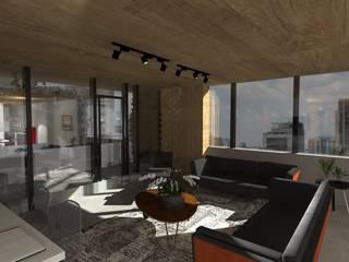 Coworking Pamplona Espaços comerciais modernos por Tais Vivanco Moderno