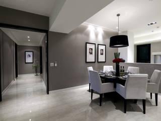 Salon de style  par 雅群空間設計, Moderne