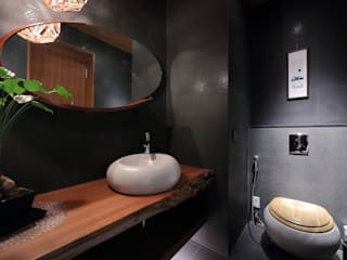 雅群空間設計 Asian style bathrooms