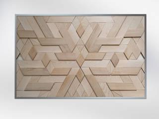 Геометрические панно из дерева от WOODLOVE Минимализм