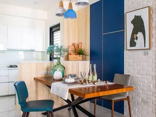 辰季傢飾 ห้องทานข้าวถ้วยชามและเครื่องแก้ว กระจกและแก้ว Blue