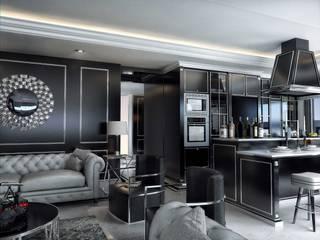 ANTE MİMARLIK Living room Black