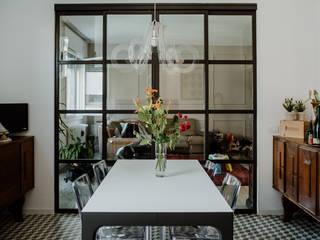Casa Sant'Agata Sala da pranzo in stile industriale di camera24 Industrial