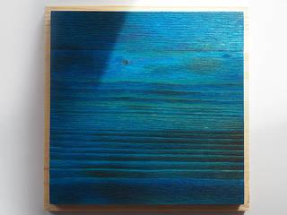 Панели из обожжённой сосны Yakisugi от WOODLOVE Лофт