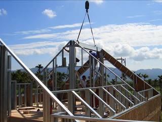 安居住宅有限公司:  tarz Beşik çatı