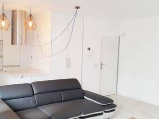 Reforma Piso Junto a la Playa Salones de estilo minimalista de SP_Arquitectura Minimalista