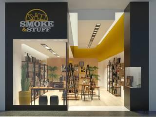 Loja Smoke & Stuff por Daniela Ponsoni Arquitetura Moderno