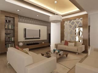 ANTE MİMARLIK  – Hikmet Bey Villa:  tarz Oturma Odası