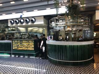 O2 Cafe Modern Duvar & Zemin DESTONE YAPI MALZEMELERİ SAN. TİC. LTD. ŞTİ. Modern Seramik