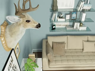 Living room by EL Mazen For Finishes and Trims