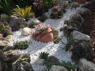 Taman Gaya Mediteran Oleh Trani Gold Stone - la pietra di Trani Mediteran