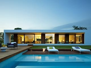 Casas prefabricadas de diseño y constricción exclusiva de casasfrau Mediterráneo