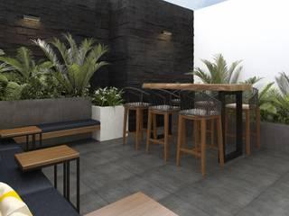 Terrazas de estilo  de K'ANKA