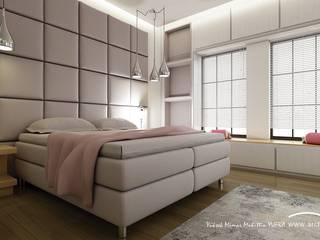 Minimalist bedroom by ARCHMY Mimarlık Minimalist