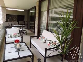 Asesoría de Diseño en Mudanza Balcones y terrazas clásicos de Kaa Interior | Arquitectura de Interior | Santiago Clásico