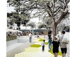 Acondicionamiento Barranco Pinoseco de SP_Arquitectura Moderno