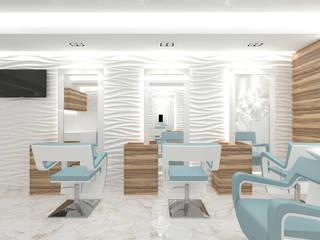 Spa escandinavos de Студия дизайна интерьера Руслана и Марии Грин Escandinavo