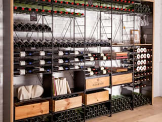 Modern Home Wine Cellar by ShoWine Modern