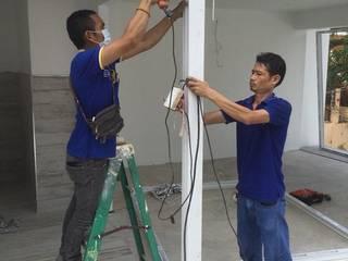 งานติดตั้ง ประตู-หน้าต่าง upvc  (ทัพยา ซอย1) เขาพระตำหนัก พัทยาใต้ :   by บริษัท เดโค้ เยอรมัน วินโดว์ (ประเทศไทย) จำกัด