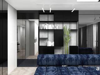 ARTDESIGN architektura wnętrz Salones de estilo industrial