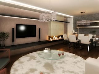 ANTE MİMARLIK  – Mamurbaba 1 Villa:  tarz Oturma Odası