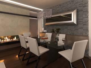 ANTE MİMARLIK  – Mamurbaba 1 Villa:  tarz Yemek Odası