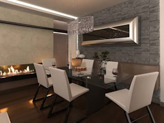 ANTE MİMARLIK Modern dining room