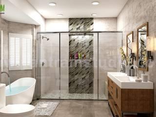 Baños de estilo  por Yantram Architectural Design Studio