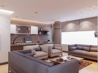 ANTE MİMARLIK  – Yunus E. Evi:  tarz Oturma Odası