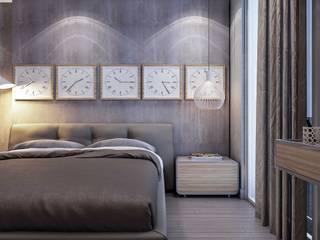 ANTE MİMARLIK  – Yunus E. Evi:  tarz Yatak Odası