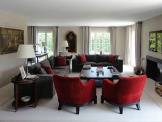 House in Geneva Antoine Chatiliez Living room