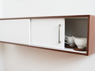 Estudio Raya KitchenCabinets & shelves Solid Wood White