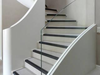 House in Geneva Antoine Chatiliez Stairs