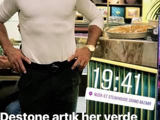 Locales gastronómicos de estilo  de DESTONE YAPI MALZEMELERİ SAN. TİC. LTD. ŞTİ. , Moderno