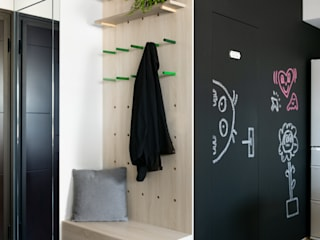 Corridor & hallway by 邑田空間設計, Eclectic