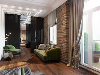 Апартаменты в историческом центре Калининграда: Спальни в . Автор – ATM interior