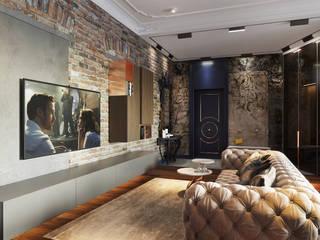 Апартаменты в историческом центре Калининграда: Гостиная в . Автор – ATM interior