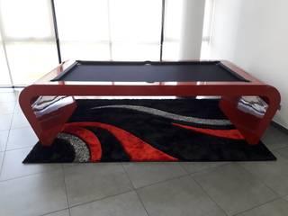 Mesa de Bilhar Modelo Prince: Salas de estar  por Xavigil