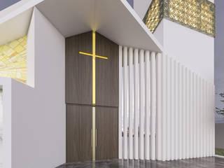 :  de estilo  por Montes de oca Arquitectura