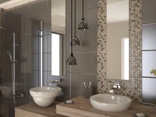 حمام تنفيذ Nocera Kathia rendering progettazione e design