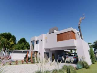 Casa JG Casas modernas: Ideas, imágenes y decoración de Módulo 3 arquitectura Moderno