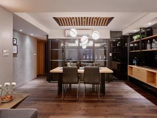 2018老屋翻修:  餐廳 by 安提阿設計有限公司
