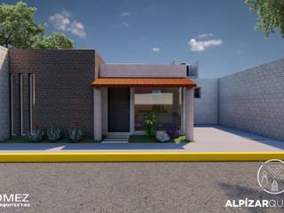 บ้านคันทรี่ โดย GóMEZ arquitectos, ชนบทฝรั่ง