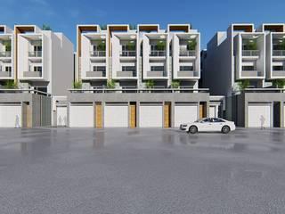 集合住宅案 理境 :  房子 by 尋樸建築師事務所