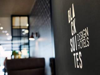 Black Suites Design Hotel Moderne Hotels von MOYSIG RETAIL DESIGN GMBH Modern