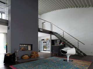Privat Haus Herford:  Wohnzimmer von MOYSIG RETAIL DESIGN GMBH