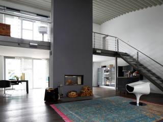 Privat Haus Herford Moderne Wohnzimmer von MOYSIG RETAIL DESIGN GMBH Modern