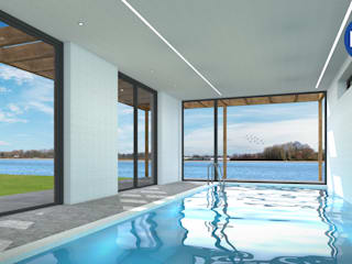 Pool by ECO architecten, Modern