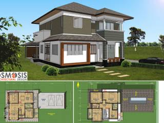 OSMOSIS Architectural Design: minimalist tarz , Minimalist